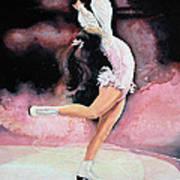 Figure Skater 20 Art Print by Hanne Lore Koehler