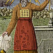 Figure Symbolizing Judaism Art Print