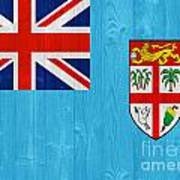 Fiji Flag Art Print