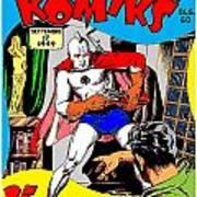 Filipino Action Comics Art Print