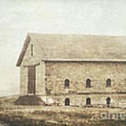 Filley Stone Barn Art Print