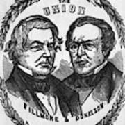 Fillmore Campaign, 1856 Art Print