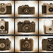 Film Camera Proofs 3 Print by Mike McGlothlen