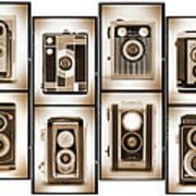 Film Camera Proofs 4 Art Print