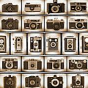 Film Camera Proofs Art Print