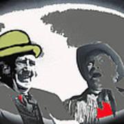 Film Homage Andy Devine  Chill Wills Old Tucson Arizona 1971-2009  Art Print