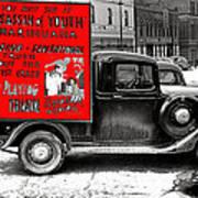Film Homage Assassin Of Youth 1937 John Vachon Omaha Nebraska 1937-2010  Art Print