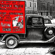 Film Homage Assassin Of Youth 1937 John Vachon Omaha Nebraska 1937-2010  Dwain Espair Art Print