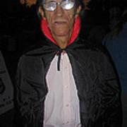 Film Homage Bela Lugosi Dracula 1931 Halloween Party Casa Grande Arizona 2005 Art Print