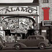 Film Homage Bela Lugosi Shadow Of Chinatown 1936 John Vachon Fsa Alamo Theater Washington D.c. 2010 Art Print