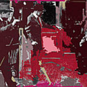 Film Homage Cameraman Billy Bitzer Director D.w. Griffith Collage Circa 1912-2012 Art Print