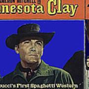 Film Homage Cameron Mitchell Minnesota Clay Lobby Card 1964-2013 Art Print