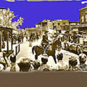 Film Homage Cameron Mitchell The High Chaparral Main Street Old Tucson Az Publicity Photo Art Print