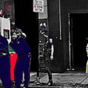 Film Homage Cool Hand Luke 1967 Paddy Wagon Porn Theater Pilgrim Theater Boston Ma 1977-2008 Art Print