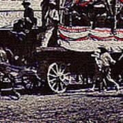 Film Homage James Cagney Yankee Doodle Dandy 1942  East Congress  Tucson Arizona C. 1890-2008       Art Print