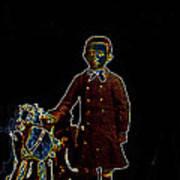 Film Homage John Mills Rocking Horse Winner 1949 Tucson Arizona Circa 1890-2008 Art Print
