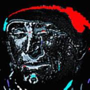 Film Homage  Kirk Douglas  Lust For Life  1956  Old Tucson Arizona 1971-2010 Art Print