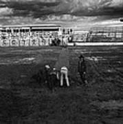 Film Homage Nicholas Ray The Lusty Men 1952 Rko Tucson Rodeo 1983-2008 Art Print