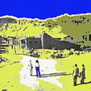Film Homage Old Tucson Arizona In The Mid 1940's Art Print