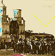 Film Homage Rouben Mamoulian  Ida Lupino  The Gay Desperado 1 1936 San Xavier Tucson Art Print