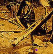Film Homage Sergei Eisenstein Sutter's Gold 1930 Mining Sluice 1880's-2008 Art Print