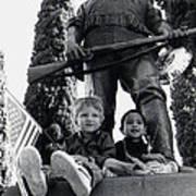 Film Homage Tearing Down The Spanish Flag 1898 Veteran's Day Parade 1984 Armory Park Tucson Art Print