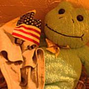 Film Homage The Muppet Movie 1979  Number 2 Froggie Smudge Stick Casa Grande Az 2004-2009 Art Print