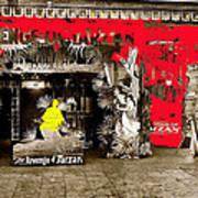 Film Homage The Revenge Of Tarzan Criterion Theater Washington Dc. 1920-2010 Art Print