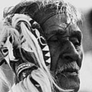 Film Homage The Yaqui 1916 Pascola Dancer New Pascua Arizona 1969-2008   Art Print