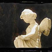Film Noir Cinematographer Harry Wild Claire Trevor Johnny Angel 1945 Statue Arizona City Az 2005 Art Print