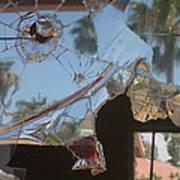 Film Noir Jim Thompson The Grifters 1990 Palm Trees Shattered Glass Casa Grande Arizona 2004 Art Print