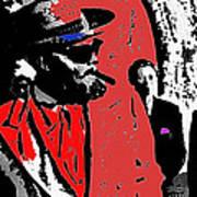 Film Noir Orson Welles Mr. Arkadin 1955 Color Added 2012 Art Print