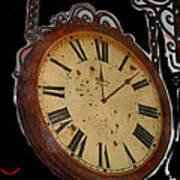 Film Noir Ray Milland Charles Laughton John Farrow The Big Clock 1948 Clock Casa Grande Arizona 2004 Art Print