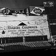 Film Noir Robert Mitchum Where Danger Lives 1950 1 Border Town Nogales Sonora Mexico Art Print