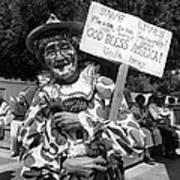 Film Noir Robert Siodmak  George Sanders Strange Affair Of Uncle Harry Clown Tucson Arizona Art Print