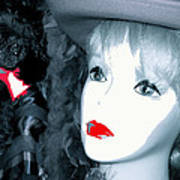 Film Noir Stanley Kubrick Frank Silvera Killer's Kiss 1955 Mannequin Casa Grande Arizona 2006  Art Print