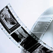 Film Strips Art Print by Tommytechno Sweden