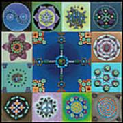 Fimo Mandala Art Print