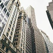 Financial District, New York City Art Print