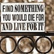 Find Something Art Print