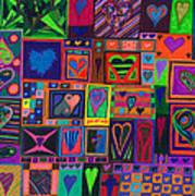 Find U'r Love Found Art Print