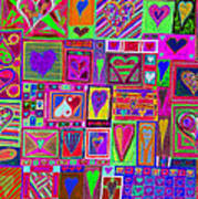 find U'r love found v5 Art Print