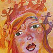 Finding A Voice Art Print by Naomi Gerrard
