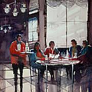 Fine Dining Art Print by Ryan Radke