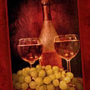 Fine Wine Art Print