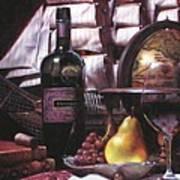 Fine Wine For New Voyage Art Print