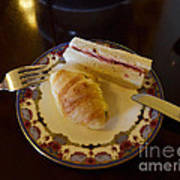 Finger Sandwiches For Traditional Afternoon Tea Art Print