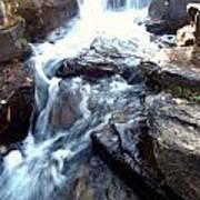 Finlay Park Waterfall Art Print