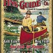 Fins Guide Service Art Print by JQ Licensing