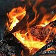 Fire 1 Art Print